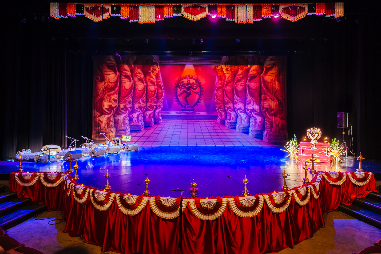 Arangetram riya siddhartha saha photography for Arangetram stage decoration ideas